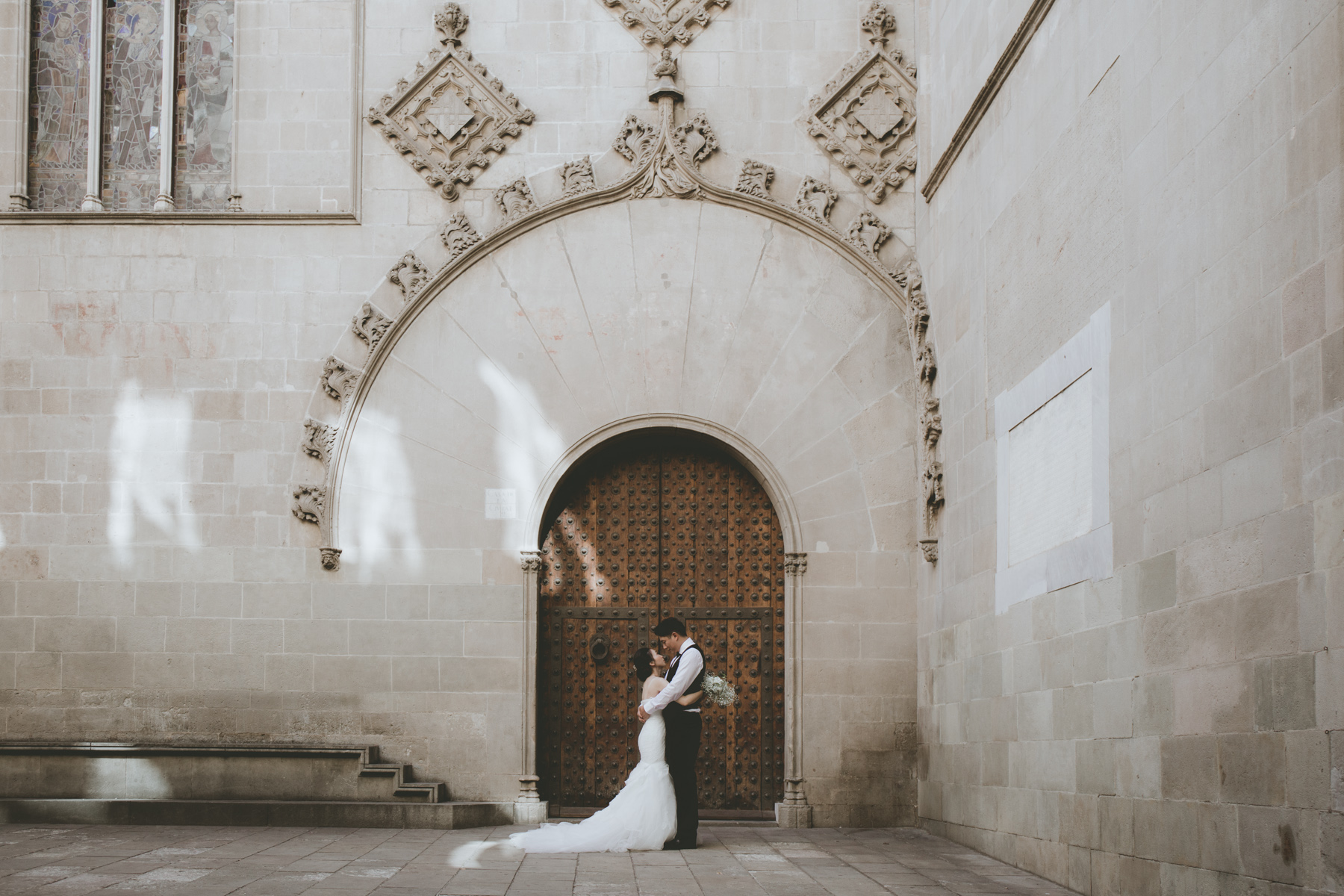 asian elopement in Barcelona