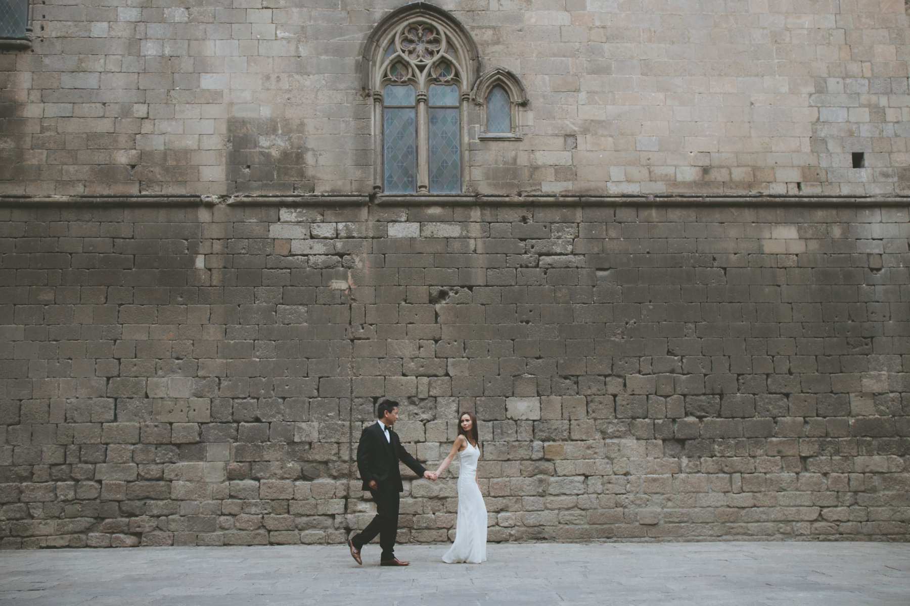 asian pre-wedding in Barcelona