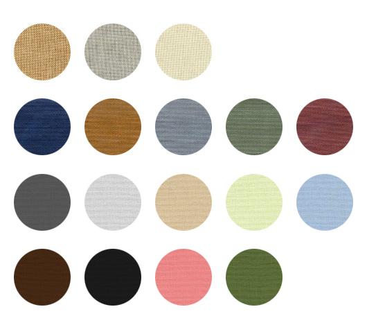 colores de las cajas de tejido