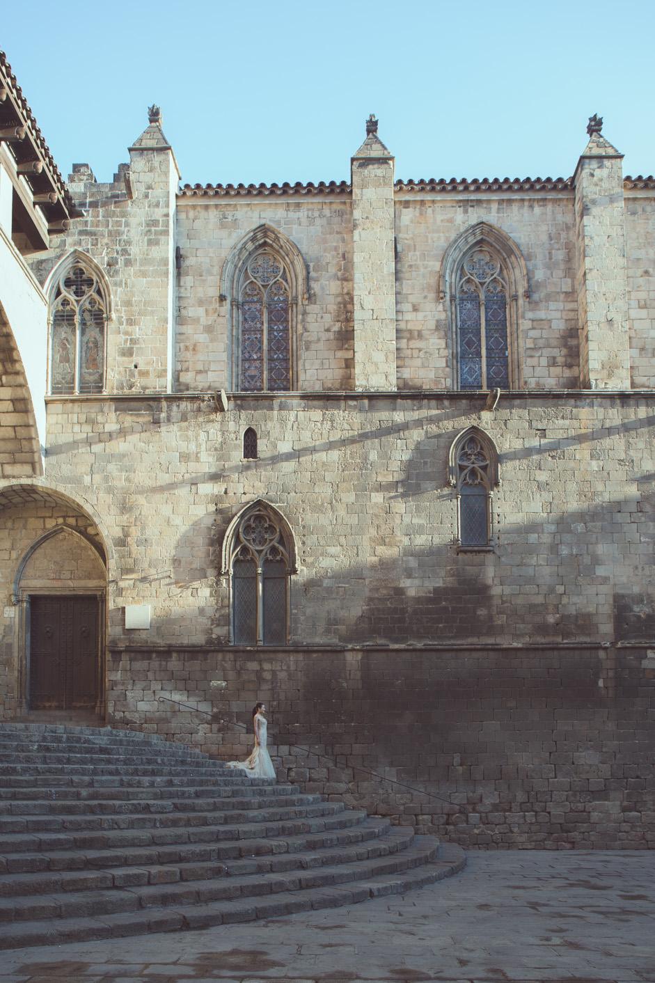 Elopement photographer Barcelona