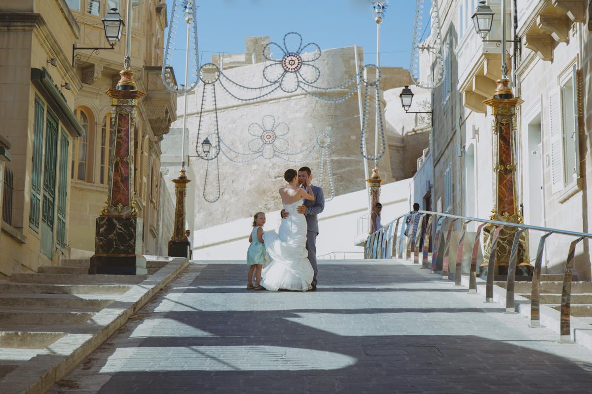 Destination wedding photographer in Gozo
