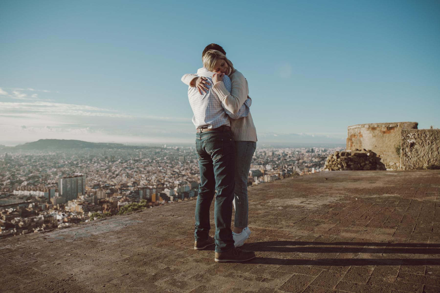 engagement photographer Barcelona