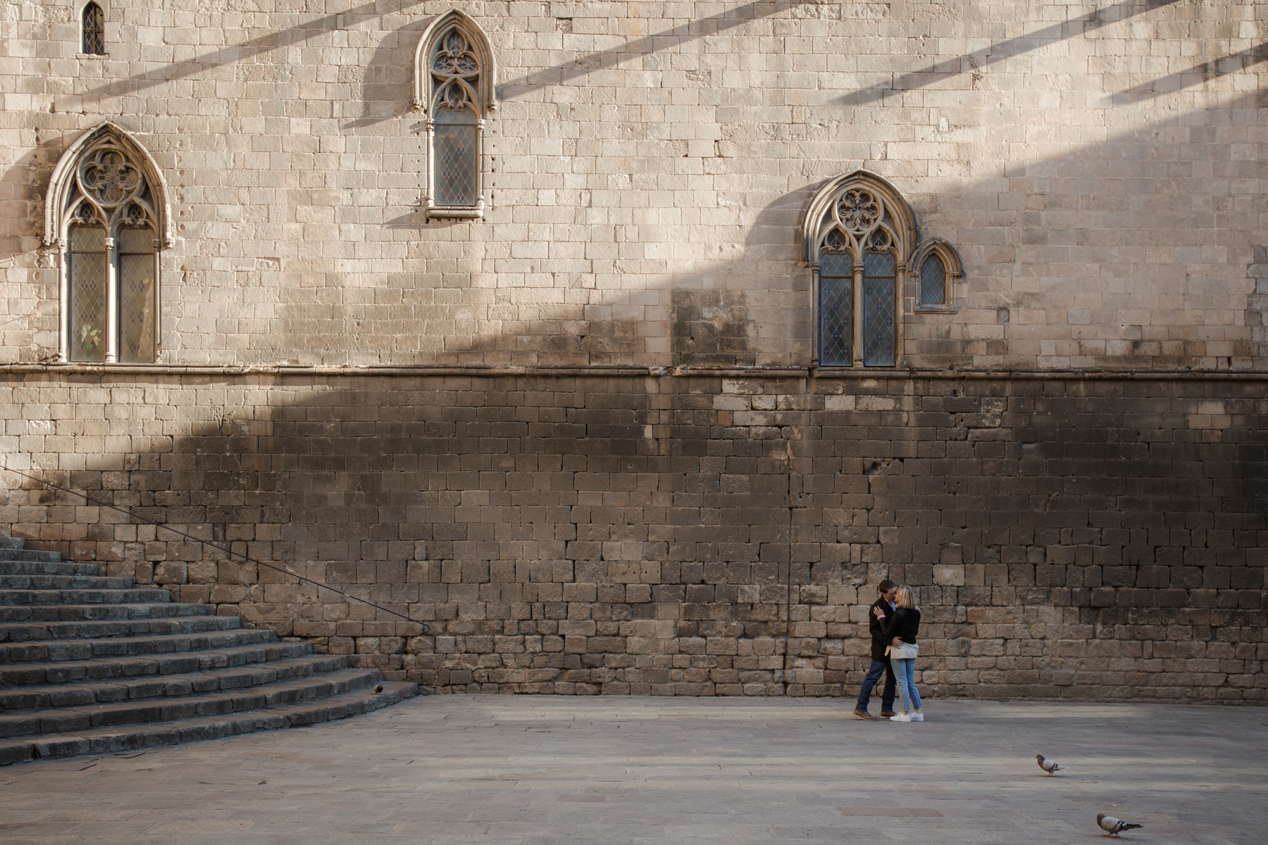 proposal in Gothic, Barcelona