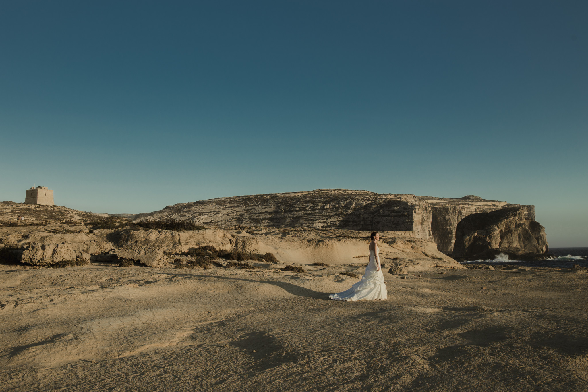 Destination wedding photographer Malta