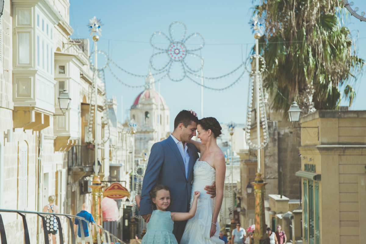Destination wedding photographer in Gozo