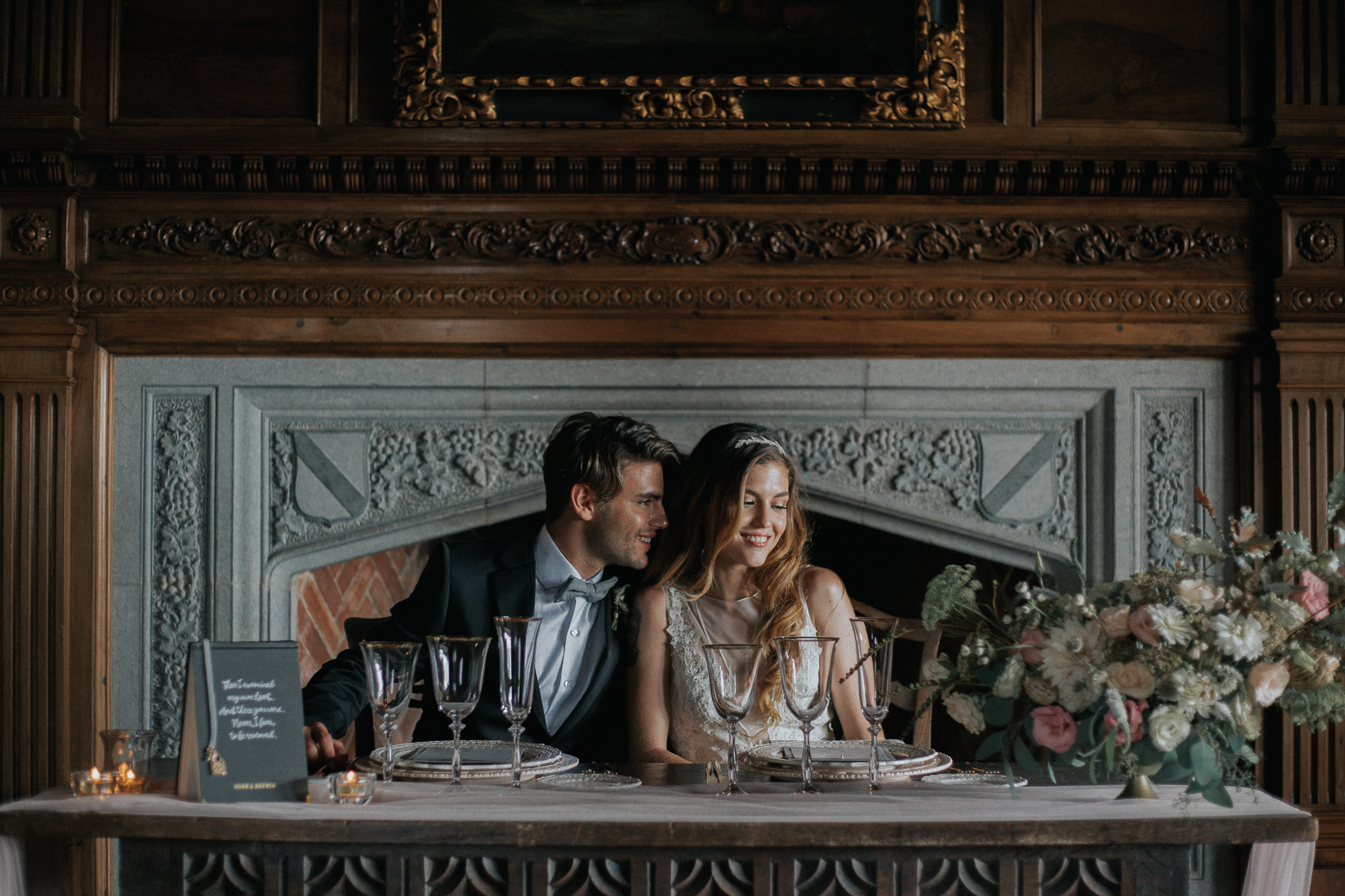 romantic wedding inspiratin barcelona