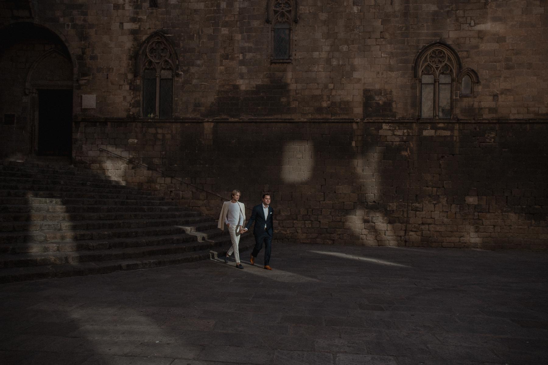 same sex engagement barcelona